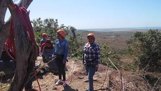 Alumnos de la UTEsc realizan practica de turismo alternativo en Tecualilla