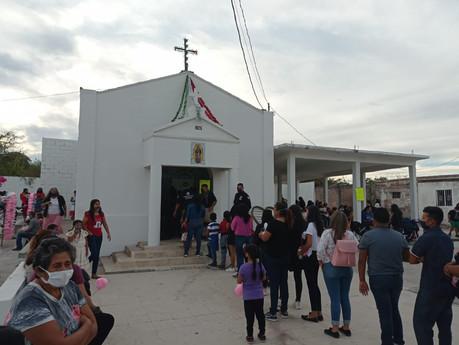 Acuden pocos a la Capilla del Gallo en Escuinapa para celebrar a la Virgen de  Guadalupe