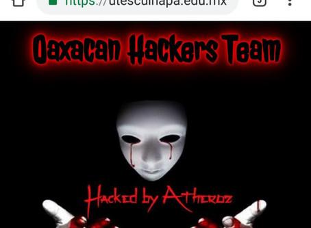Hackean pagina de la UT Escuinapa