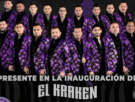 """Banda El Recodo este jueves se presenta """"El Kraken"""" para la inauguración oficial"""