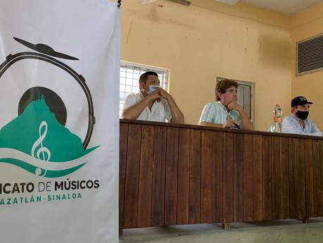 Buscarán garantizar a los músicos, prestaciones laborales en hoteles y restaurantes: Gordoa Obeso
