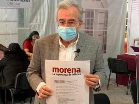 Rubén Rocha Moya se registra para la candidatura al gobierno de Sinaloa