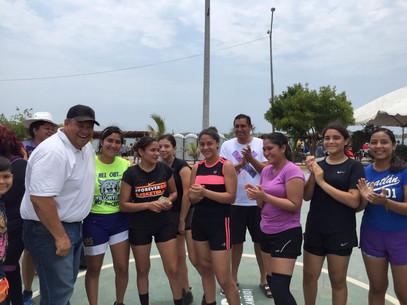 Gana Rosario en torneo ráfaga de básquetbol femenil Tradicionales Fiestas del Marino 2019