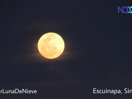 Prepara para disfrutar de la 'Super Luna de Nieve', se apreciará la madrugada de este domingo