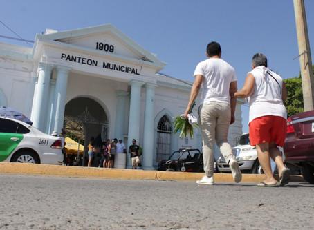 En Mazatlán, limitaran tiempo en panteones a media hora y con ingreso de entre 50 y 100 personas