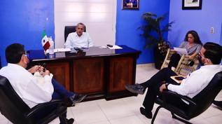 Buscan en Rosario acuerdo entre CFE y JUMAPARS para evitar corte de energía a sistemas de bombeo