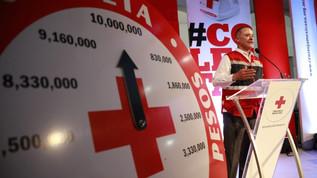 Arranca colecta de Cruz Roja en Sinaloa, la meta son 30 millones de pesos
