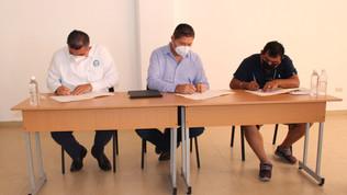 Cooperativas pesqueras firman convenio de adhesión a NODESS