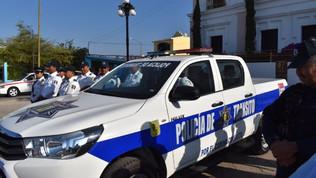Recibe Subdirección de Tránsito de Rosario nueva patrulla
