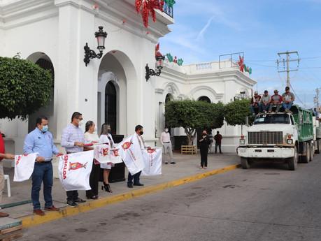 Ponen en marcha campaña masiva de descacharrización y fumigación contra el dengue en Escuinapa