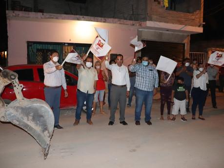 Invertirán 489 mil pesos para rehabilitar drenaje de la Calle Melchor Ocampo en Escuinapa