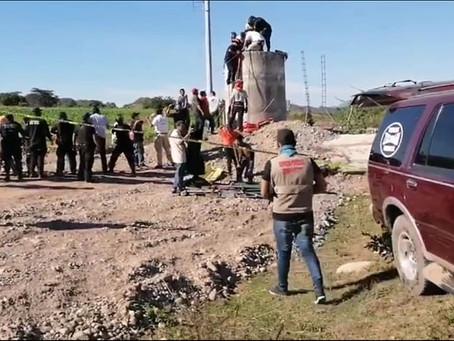 ¡Tragedia! Mueren cinco personas dentro de pozo de agua