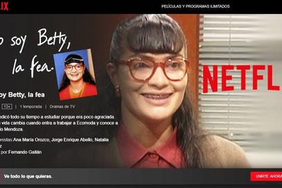 ¡Exitazo! de 'Bety la fea' en Netflix