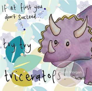 Try, try, Triceratops 047