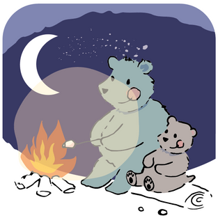 Bear Campfire 097