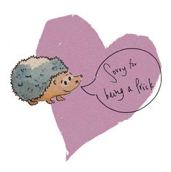Sorry Hedgehog 003
