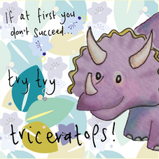 Try try Triceratops 047