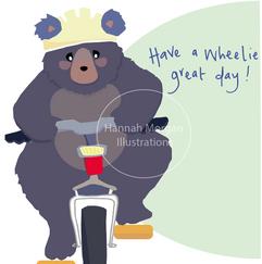 Wheelie Great day 061