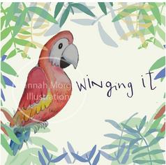 Winging it 058