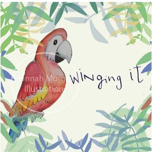 Winging it Parrot 058