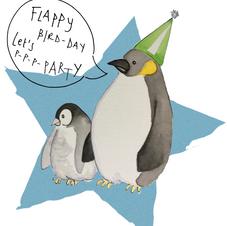 Penguin Party 001