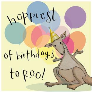 110 hoppiest of birthdays to roo