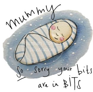 Blue Sorry Mummy 029