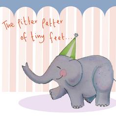 Pitter Patter elephant 090