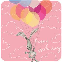 Bday Balloon Bunny 111