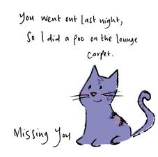 Little Purple cat 040