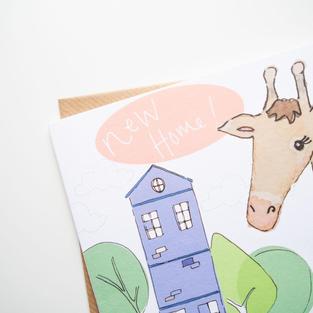 056 Giraffe's new home