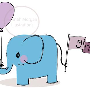 New Baby Girl Elephant 042