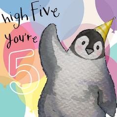 120 - high five!