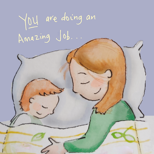 You're doing an amazing job - send this to a mum who you think is doing her best