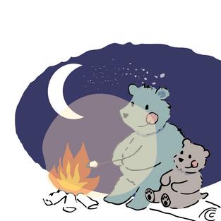 102 bear campfire