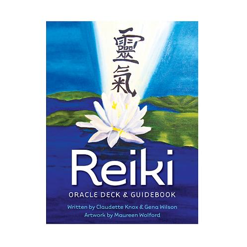 Reiki Oracle Deck & Guidebook