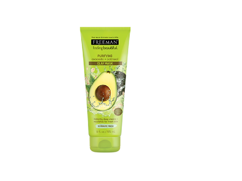 Freeman Purifying Avocado and Oatmeal Clay Face Mask