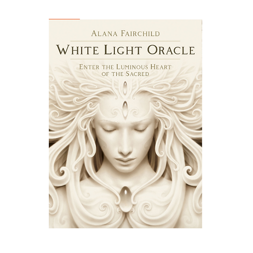 White Light Oracle Card Set with Book