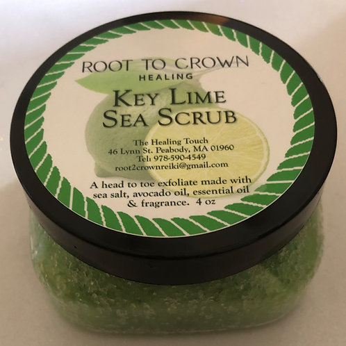 Root to Crown Healing Key Lime Sea Scrub