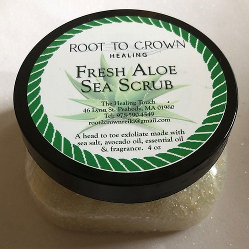 Root to Crown Healing Fresh Aloe Sea Scrub