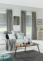 Sherwood Silver Curtain_Oasis Silver Rom