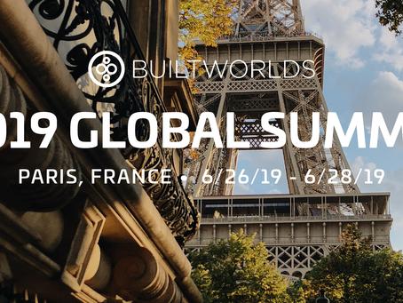 Quintus of Cambridge is attending BuiltWorlds 2019 Global Summit in Paris