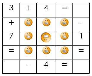 NUMBER SQUARE