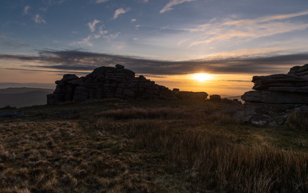 Great Mis Tor Sunset