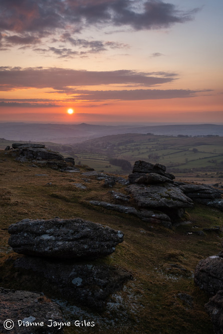Roos Tor Sunset (Ref: 8405)