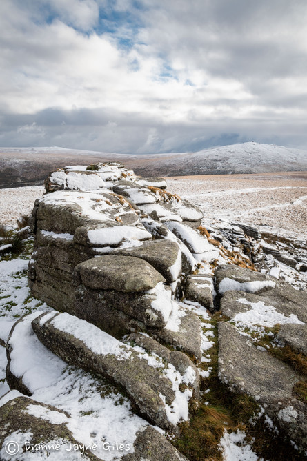 Winter on Oke Tor I (Ref: 7411)