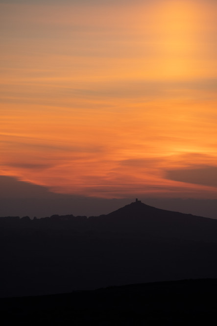 Brent Tor Sunset