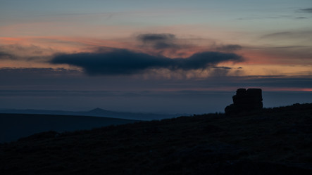 Little Mis Tor Blue Hour