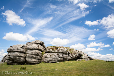 Saddle Tor Clouds