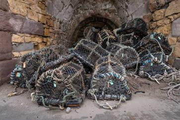 Lobster Pots at Beadnell (Ref: 1230)